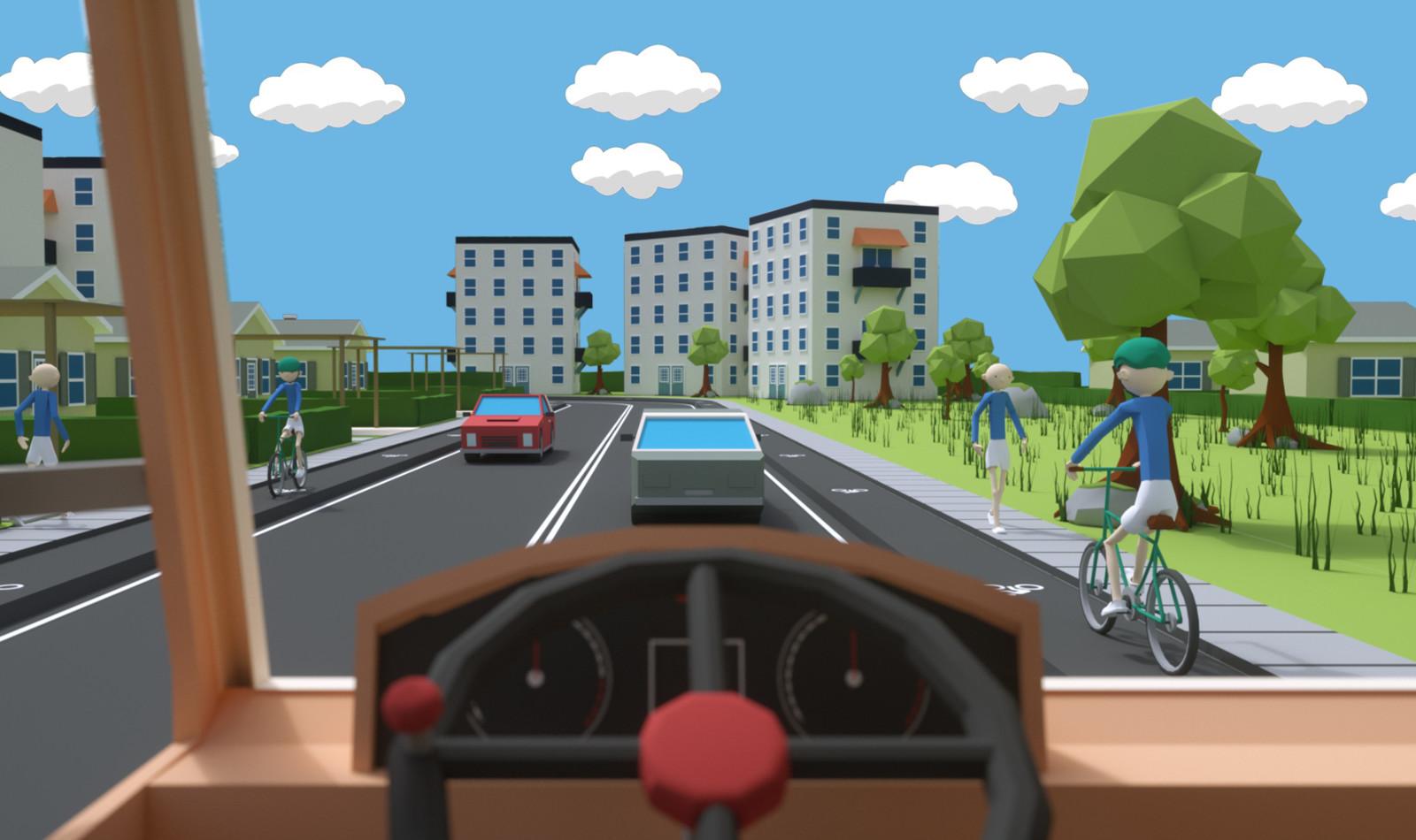 Sving Sikkert VR app developed in Unity for TUR